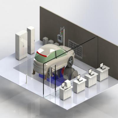 汽车底盘测功机测试试验